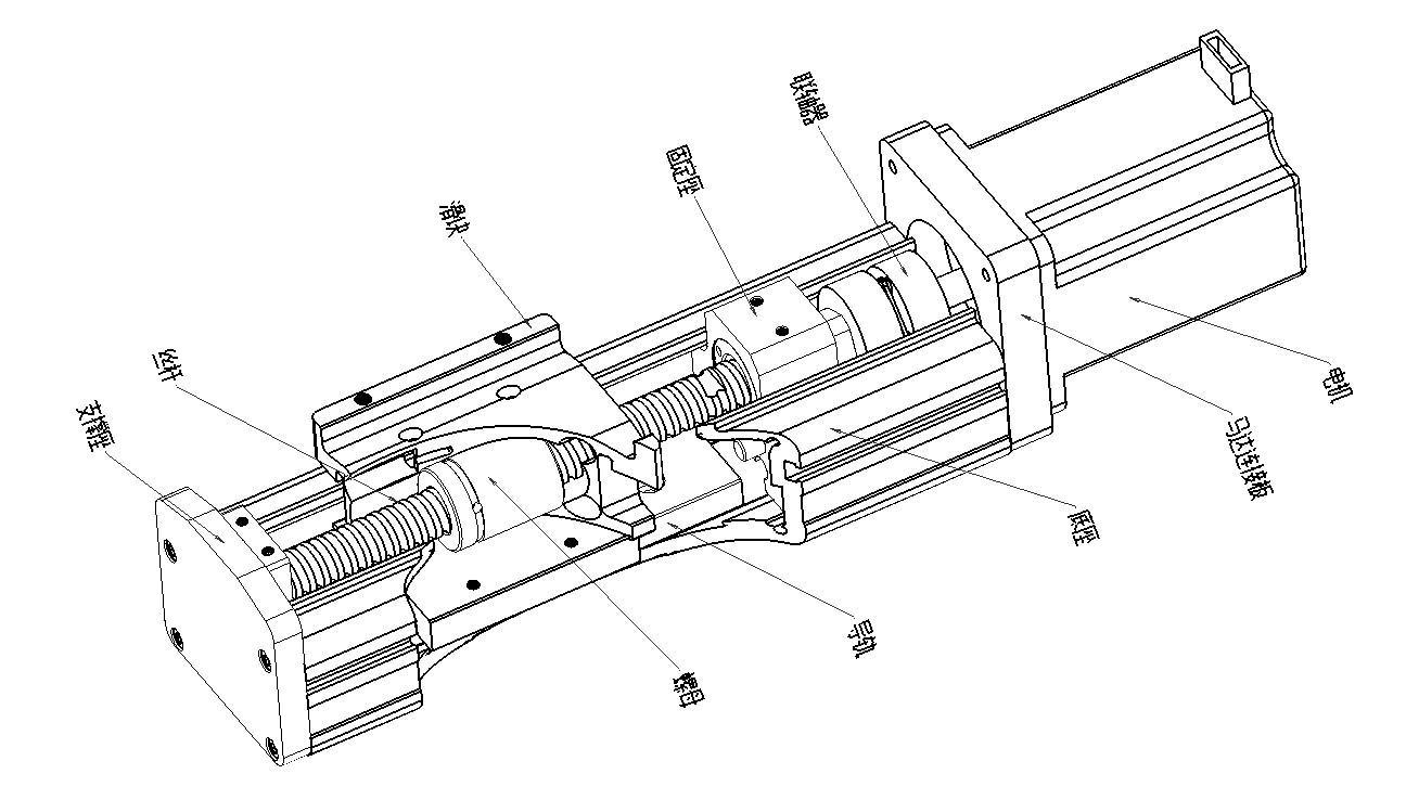 线性模组 直线模组 丝杆模组 导轨模组 滑台 直线滑台